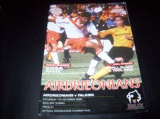 Airdrieonians v Falkirk, 2000/01